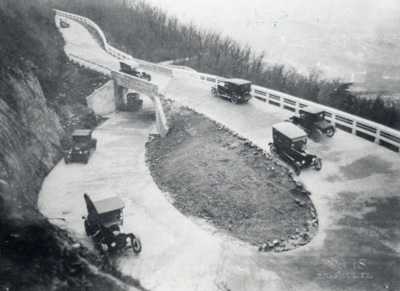 1981.73.09 - Mill Mountain Loop, c. 1910.  Gift of Henry Kennett